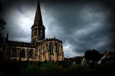 Church in Bakewell England. Built in 1600's    On sale at karen-kersey.fine art america.com