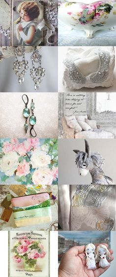 Wish List by FrenchPaperMoon on Etsy--Pinned+with+TreasuryPin.com
