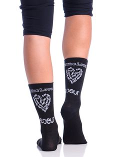 Women's Bike Socks Bike Love