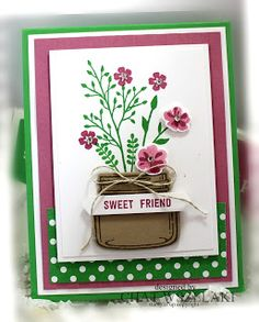 Stampin' Up Jar of Love, Me, My Stamps and I