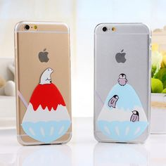 Adorable Transparent Ice Polar Bear/Penguin Iphone 5/5s,6,6s Cases , New Iphone Cases - Iphone Accessories - Gifts For Big Sale! Adorable Transparent Ice Polar Bear/Penguin Iphone 5/5s,6,6s CasesJust $14.99 . Adorable Transparent Ice Polar Bear/Penguin Iphone 5/5s,6,6s Cases, is made of high quality silicone, foldable, no fading, no scratches, no bad smell. in Atwish.com