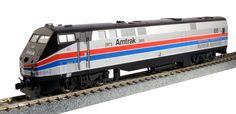 Kato HO 376105 GE P42 Genesis, Amtrak Phase II (40th Anniversary Scheme) #66 | ModelTrainStuff.com