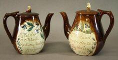 Cumnock Pottery teapots
