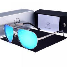 a4d3c3ddf Mercedes Benz, Óculos Escuros Estilosos, Óculos De Sol Espelhados, Lentes,  Óculos De