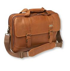 LL Bean Leather Briefcase. A graduation gift that is functional and fashionable. Get them something they NEED for the upcoming job hunt! See it and more picks on: blog.gifts.com/...
