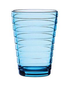 Aino Aalto Glas blau by Iittala Finland