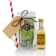 Mini Mason Jar Margarita Gift Set