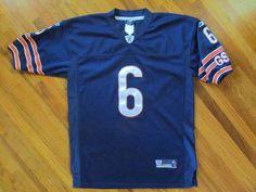Youth Size XL 16-18 NFL Chicago Bears  6 Jay Cutler Stitched Reebok Mesh  Jersey  Reebok  ChicagoBears 3b7070566