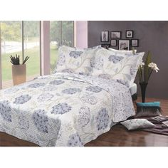 Luxury Fashionable Reversible Printed Bedding Quilt Set - Walmart.com