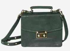 Simple + structured, this vintage-inspired shoulder bag converts to a clutch. $44