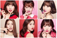 Gfriend - K Poppers and also the young faces (in Korea) of beauty products by Clinque.  They are: Sowon, Yerin, Eunha, Yuju, ShinB, and Umji.