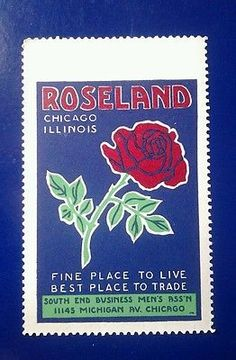 RoseLand Chicago Illinois Fine Place to Live Best place to Trade-Poster stamp
