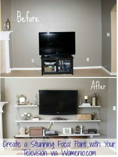 Living area: great make over!