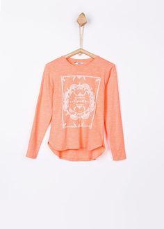 7f8a29cda Camiseta Mihaela fluor para niña de Tiffosi. Adrielsmoda · OUTLET MODA  INFANTIL