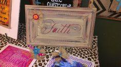 Faith Diana's Plaque's on Facebook.