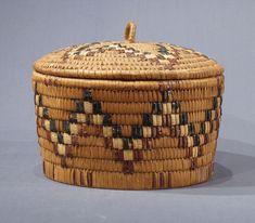 coast salish basket