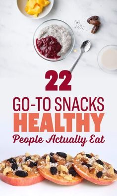 Here's What Healthy People Actually Snack On When They're Hungry