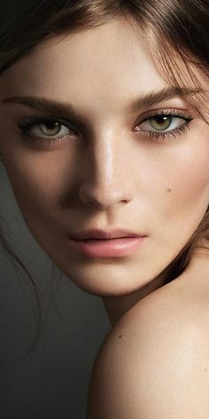 British model, actress and Burberry Cat Lashes campaign star, Amber Anderson.