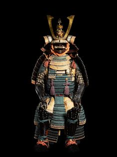 Non-Western Historical Fashion - Ceremonial suit of armour for a samurai Japan,...