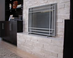 Travertine Fireplaces Design, Pictures, Remodel, Decor and Ideas - page 2