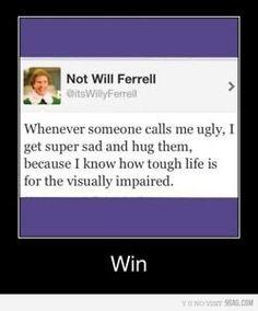 Thanks Will Ferrell!