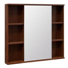 Glacier Bay 31 in. Surface Mount Medicine Cabinet in Cognac-S3027OS-ACO at The Home Depot