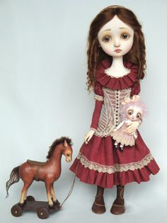 Eloise - original doll by Ana Salvador  Awww so sweet