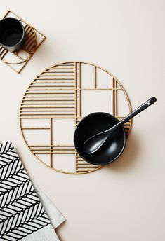 This large Art Deco-inspired trivet is precision cut from natural, light-weight and durable bamboo. New Chinese, Chinese Style, Chinese Fashion, Chinese Tea, Lounge Design, Chinese Restaurant, Restaurant Design, Art Deco Fashion, Home Fashion