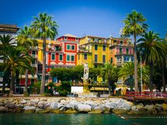 Santa Margherita, Liguria, Italy So pretty! Ready to go back!!