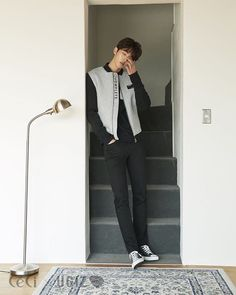 asian boy, model, and nam joo hyuk image