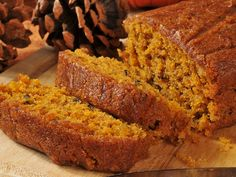 This gluten free pumpkin bread recipe is soft, sweet and super satisfying. The f… This gluten free pumpkin bread recipe is soft, sweet and super satisfying. The fluffy texture melts in your mouth and has a rich nutty and pumpkin flavor Paleo Dessert, Dessert Sans Gluten, Gluten Free Desserts, Gluten Free Recipes, Celiac Recipes, Fast Recipes, Vegetarian Recipes, Fast Metabolism Recipes, Fast Metabolism Diet