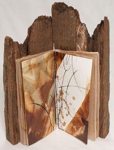 By Birgit Nass Take a book arts workshop in the heart of the Blue Ridge… Handmade Journals, Handmade Books, Paper Book, Paper Art, Altered Books, Altered Art, Book Art, Artist's Book, Book Sculpture