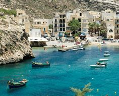 Sail the shores of Xlendi Bay, an inlet of #Malta's secluded Gozo Island. http://www.maltadirect.com/gozo