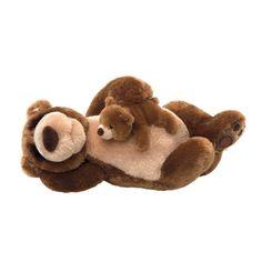 Gund Snoring Papa Bear and Little Bear