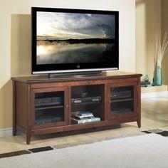 "Solid Wood TV Stand Mahogany 52"" furniture Pinterest"