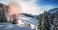 Crie sua foto de inverno!