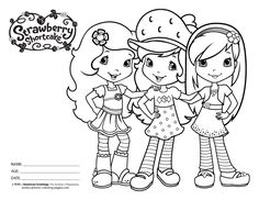 free coloring pages of strawberry shortcake 56 in post at january 2018