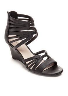 Nine West Black Raleigh Wedge