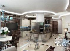 Современный стиль в интерьере от студии ANTONOVICH DESIGN: зd визуализация, интерьер #3dvisualization #interior