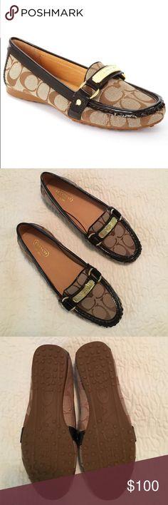 Spotted while shopping on Poshmark: Brand new Coach Felisha flat! #poshmark #fashion #shopping #style #Coach #Shoes