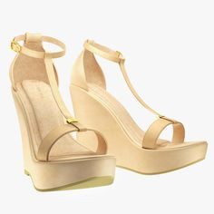 conf3ss - High Wedge - Nude, $89.95 (http://www.conf3ss.com/high-wedge-nude/)
