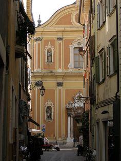 Chiesa di Santa Maria a Riva del Garda by ENRSIGN Most Beautiful, Beautiful Places, Riva Del Garda, Garda Italy, Lake Garda, Lake Como, Santa Maria, Holiday Destinations, Places Ive Been