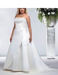 piniful.com cheap plus size wedding dresses (09) #plussizefashion