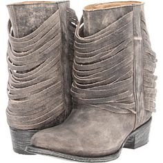 Cool fringe boots