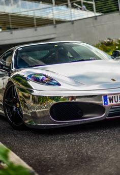 Mode Of Transportation| Serafini Amelia| Ferrari 430 Silver