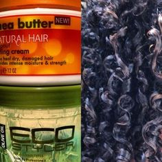 A Wash & Go in FOUR Simple Steps with Cantu Shea Butter Coconut Curling Cream