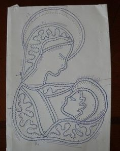 S15- Bordure per altare o per paramenti sacerdotali Madonna, Crafty Projects, Projects To Try, Creative Embroidery, Point Lace, Lace Patterns, Bobbin Lace, Bruges, Needlework