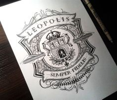 Hand Lettering for a T-Shirt Design, (Sketch pictured) by Mateusz Witczak