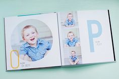 Baby Album Templates for Professional Photographers