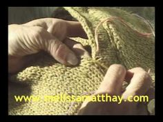 Knitting Lesson: Perfect Seams. This tutorial is EXCELLENT! Great explanations and visuals